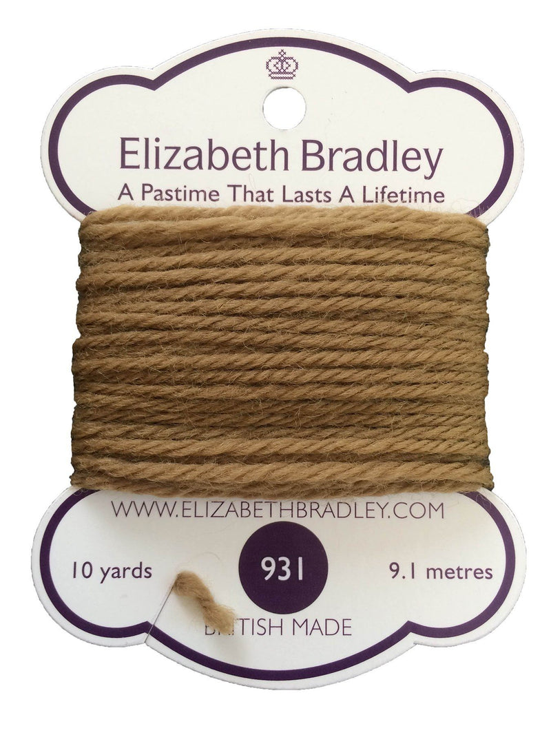 Tapestry Wool Colour 931 Tapestry Wool Elizabeth Bradley Design