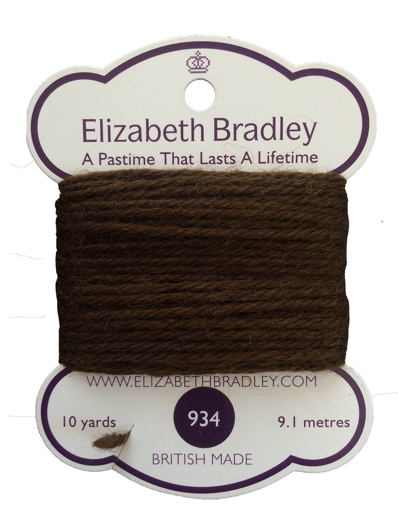 Tapestry Wool Colour 934 Tapestry Wool Elizabeth Bradley Design