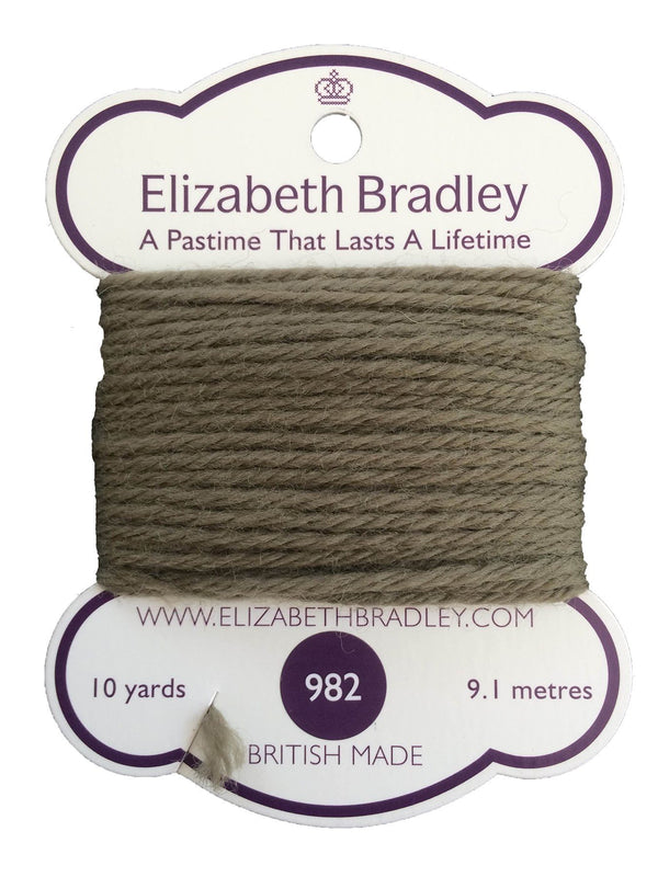 Tapestry Wool Colour 982 Tapestry Wool Elizabeth Bradley Design