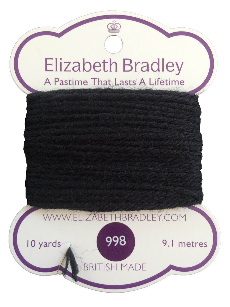 Tapestry Wool Colour 998 Tapestry Wool Elizabeth Bradley Design