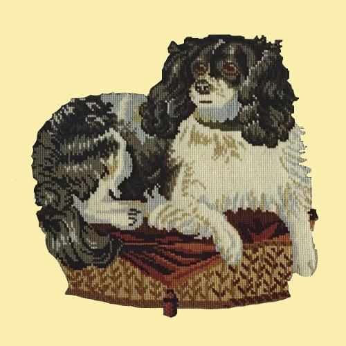 The King Charles Spaniel Needlepoint Kit Elizabeth Bradley Design Butter Yellow