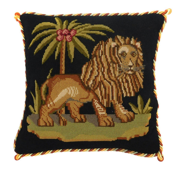 The Lion Needlepoint Kit Elizabeth Bradley Design