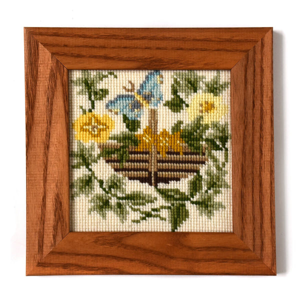 The Potager Mini Kit Needlepoint Kit Elizabeth Bradley Design