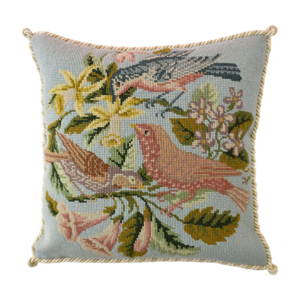 The Three Birds Needlepoint Kit Elizabeth Bradley Design