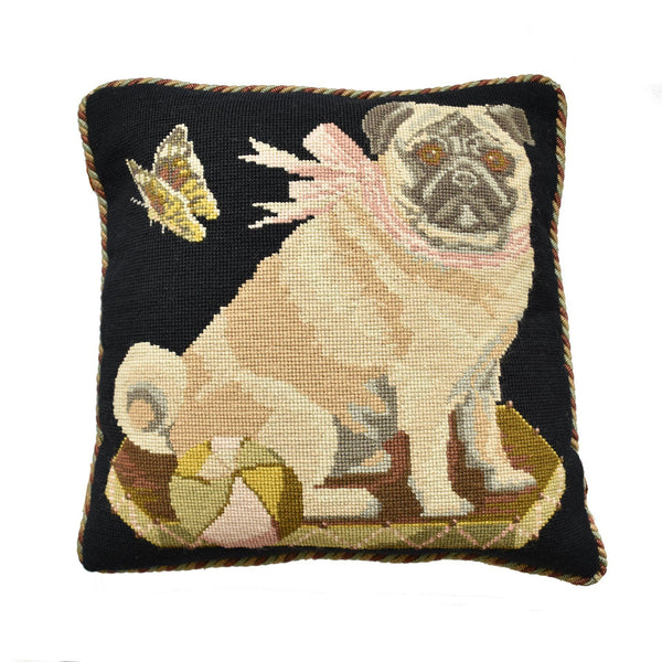 Toby the Pug Needlepoint Kit Elizabeth Bradley Design
