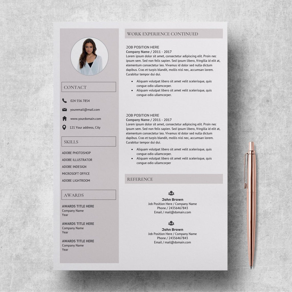 Digital Resume Student Resume Template Jessica Edwards