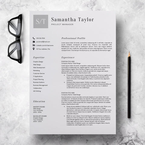 Basic CV Template Word