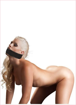 BAD KITTY - BALL GAG WITH VELCRO STRAP