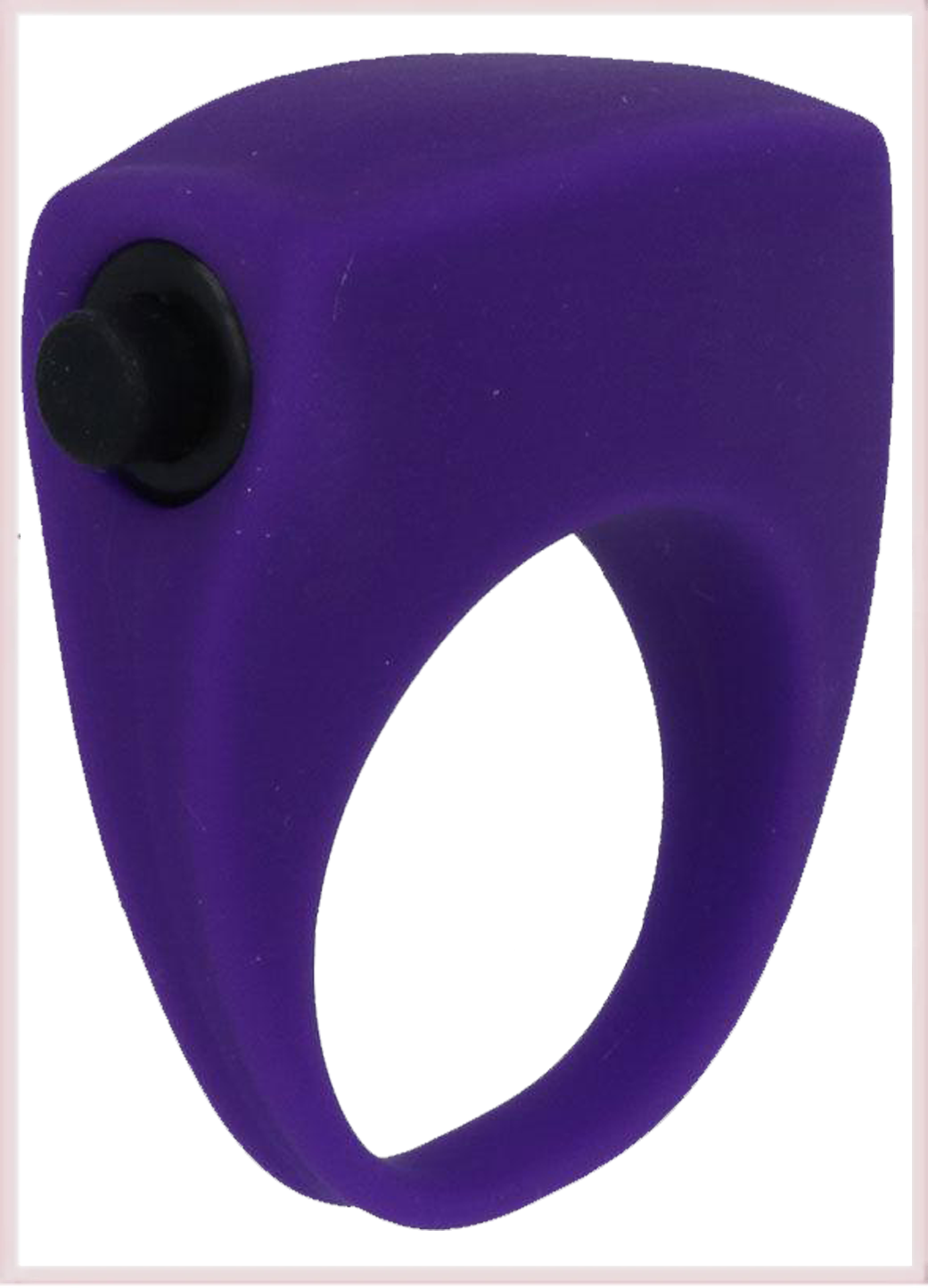 INTENSO RAFIX VIBRA COCKRING IN SILICONE VIOLA