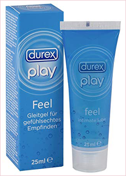 LUBRIFICANTE DUREX PLAY FEEL EFFETTO SETA 25 ML
