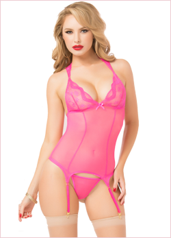 PINK PERFECTION BUSTIER