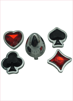 Set plug Anale Playing card