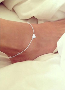 Sweet Heart Anklet