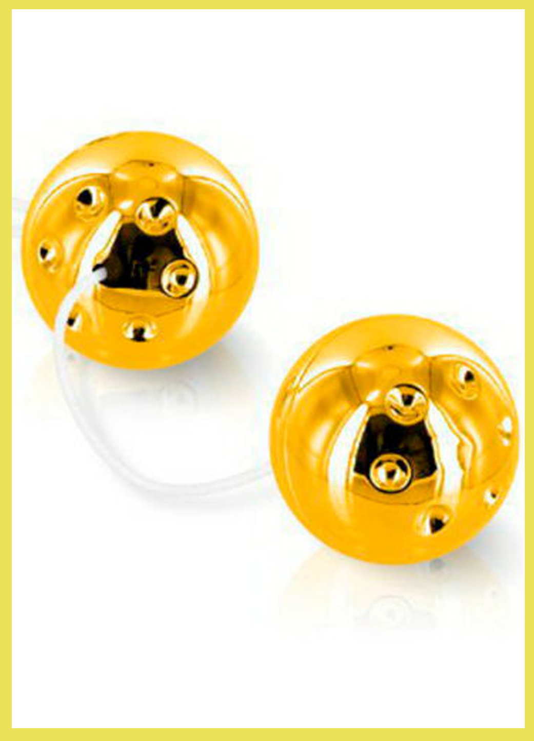 SEVENCREATIONS DUO BALLS GOLD
