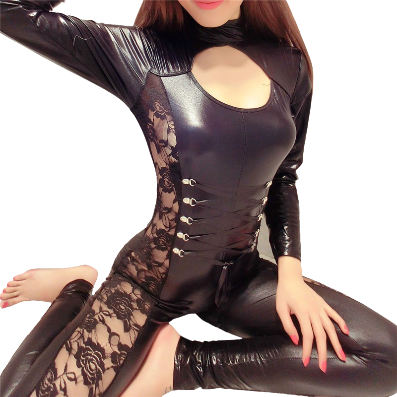 Latex Bodysuit Jumpsuits