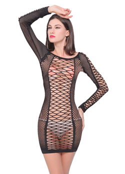 Fishnet catsuit -  Fishnet sexy Lingerie Hot