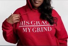 Load image into Gallery viewer, His Grace/My Grind Unisex Hoodie