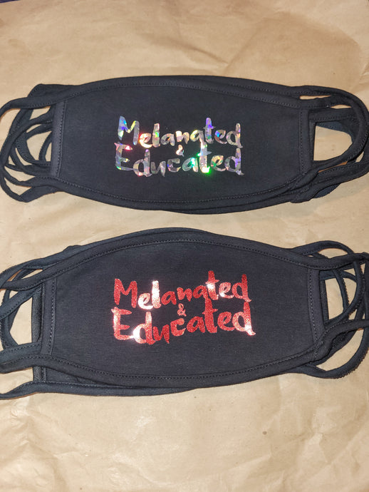 Melanated & Educated Facemasks