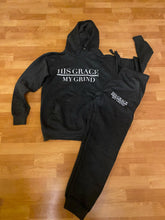 Load image into Gallery viewer, His Grace/My Grind Unisex Jogger Set