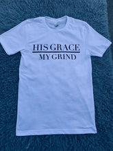 Load image into Gallery viewer, His Grace/My Grind Unisex Tee