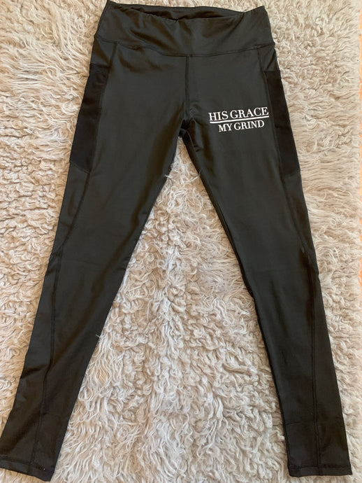 His Grace/My Grind Women's Workout Pants