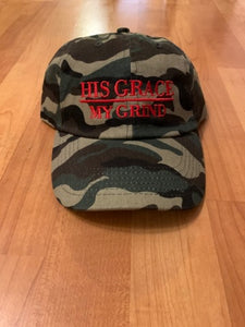 His Grace/My Grind Camo Dadhats