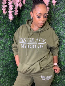 His Grace/My Grind Unisex Jogger Set