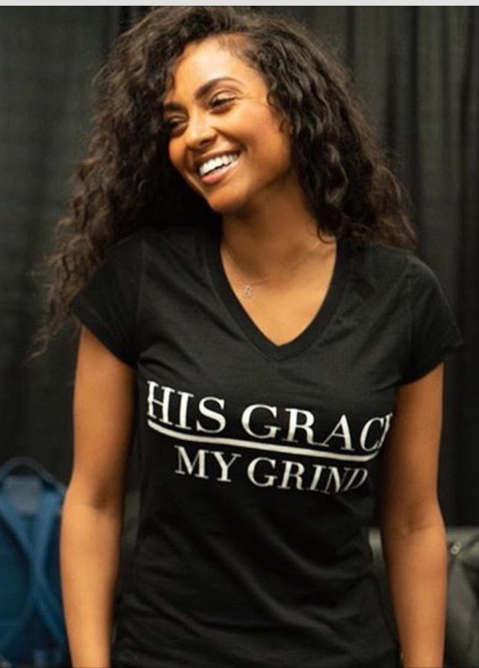 His Grace/My Grind Womens Tee