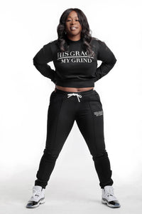 His Grace/My Grind Women's Jogger Set