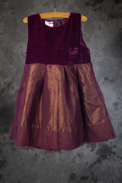 name it - Burgundy Party Dress