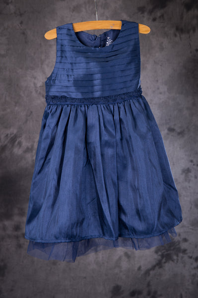 name it - Navy Blue Party Dress