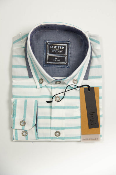 name it - Mathais Kids Stripe Shirt
