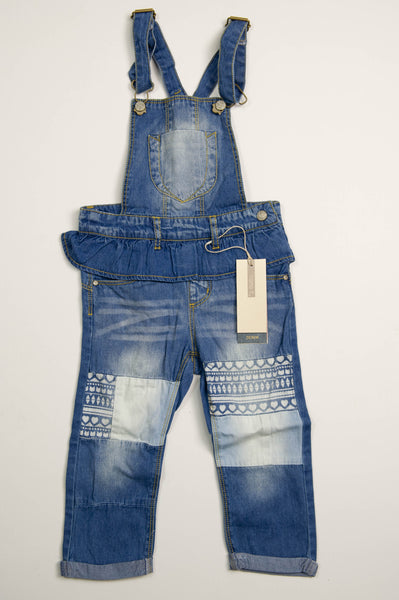 name it - Denim Dungarees