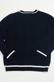 3 Pommes - Boys Navy Blue Cardigan