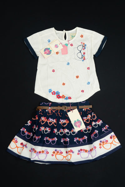 Yumi Girl - Girls Combination Dress and Skirt