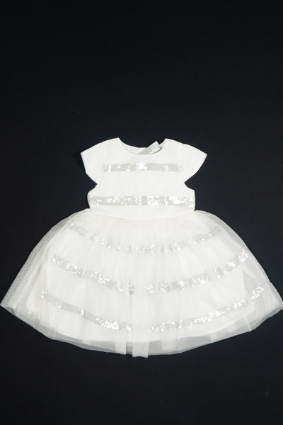 3 Pommes - White and Silver Dress