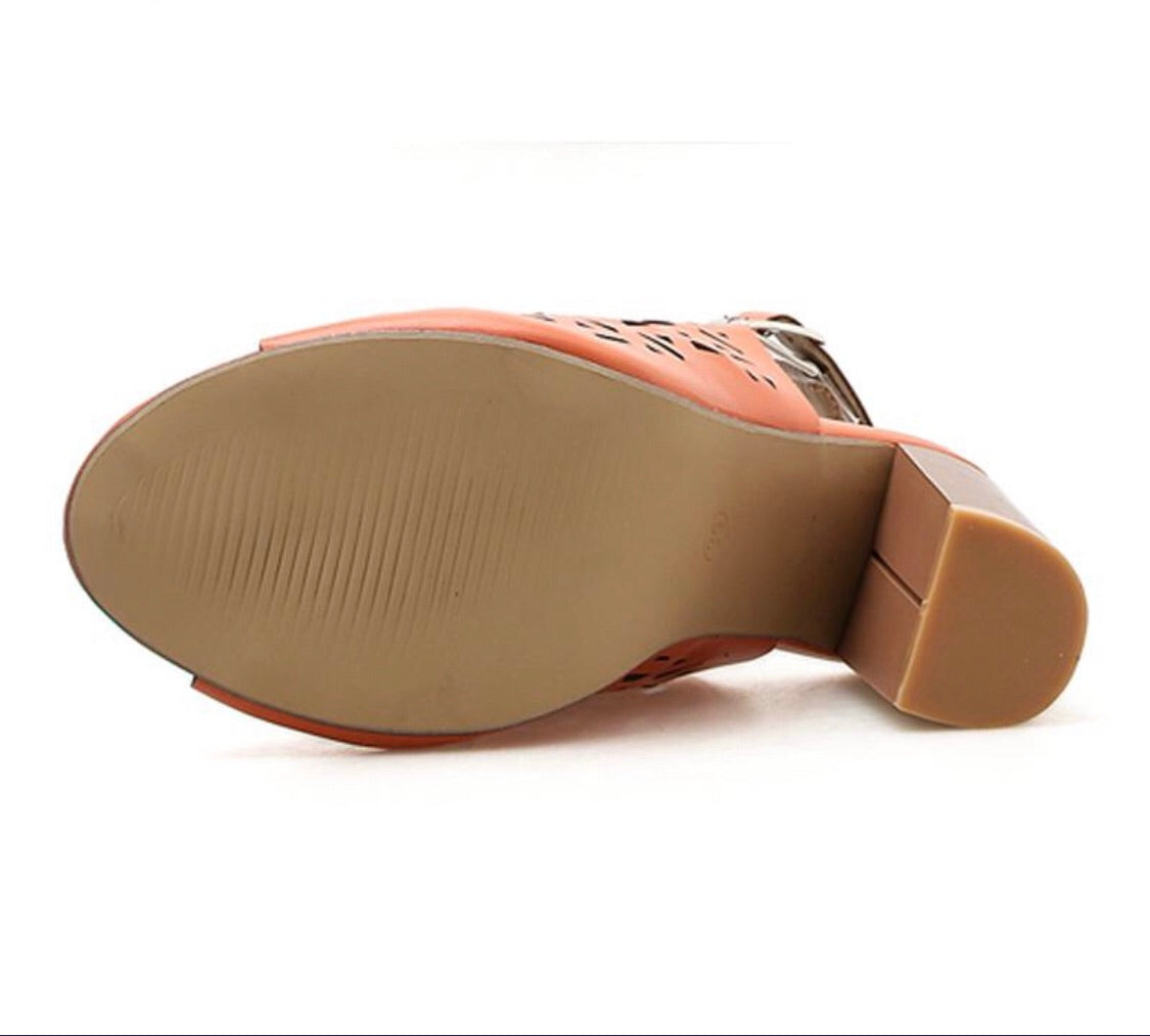 Knish's Buckle Strap Chunky Shoes (BOGO)