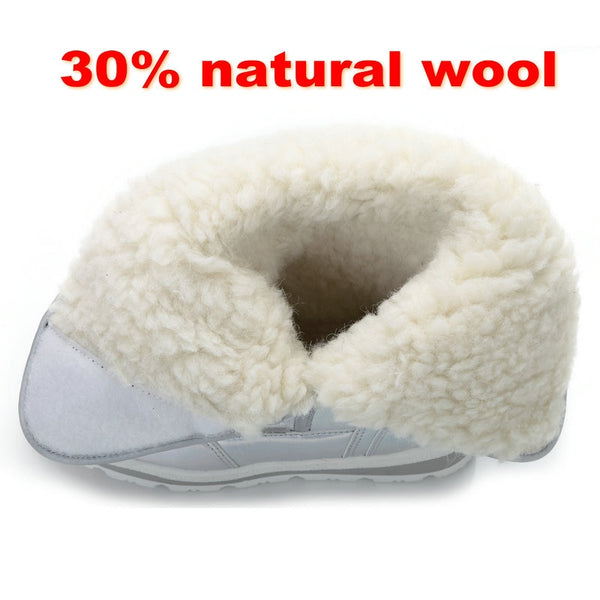 Winter Warm Thick Fur Waterproof
