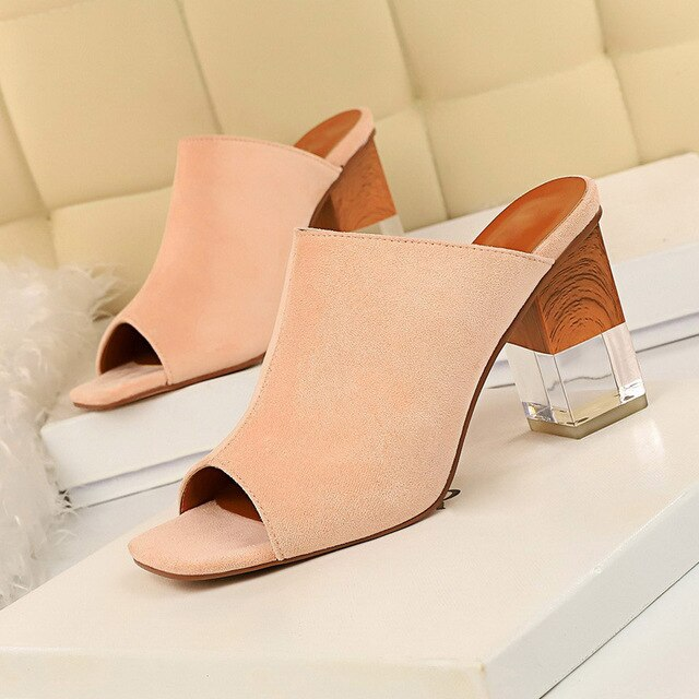 Block Clear Mules