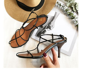 All-Match Buckle Strap Sandals