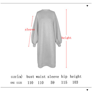 Cotton Sweatshirt Dress
