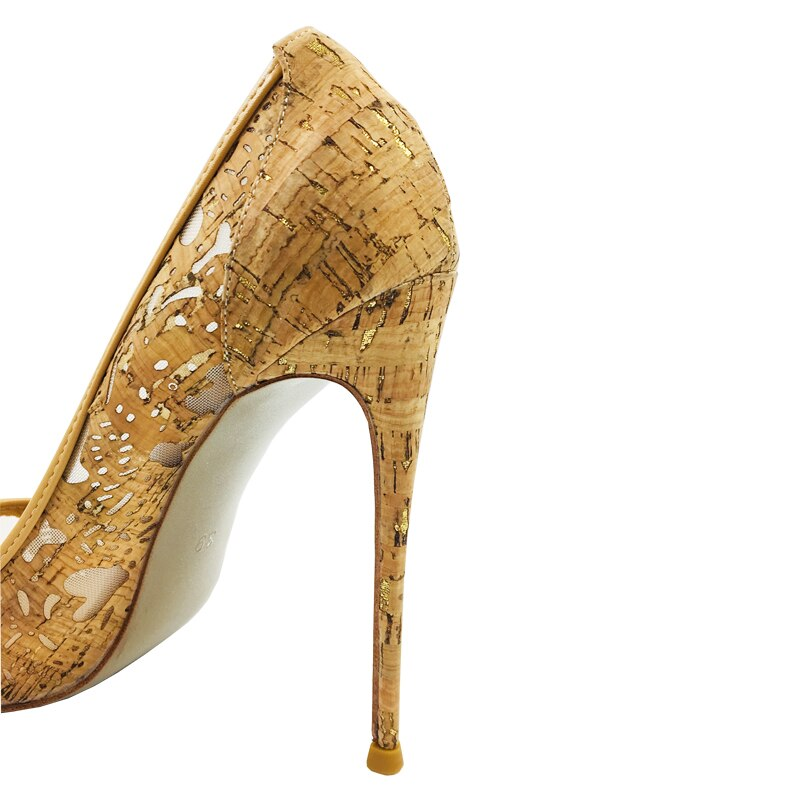 Laser Engraving Pointy Stilettos