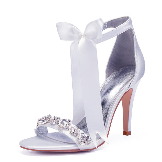 Crystals Wedding Sandals Shoes
