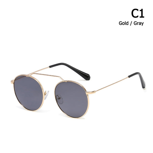 Round Metal Ocean Sunglasses