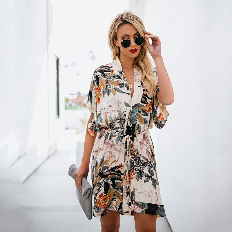 Belted Wrap Dress