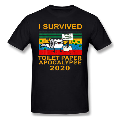 T-Shirt 100% Cotton toilet paper shortage