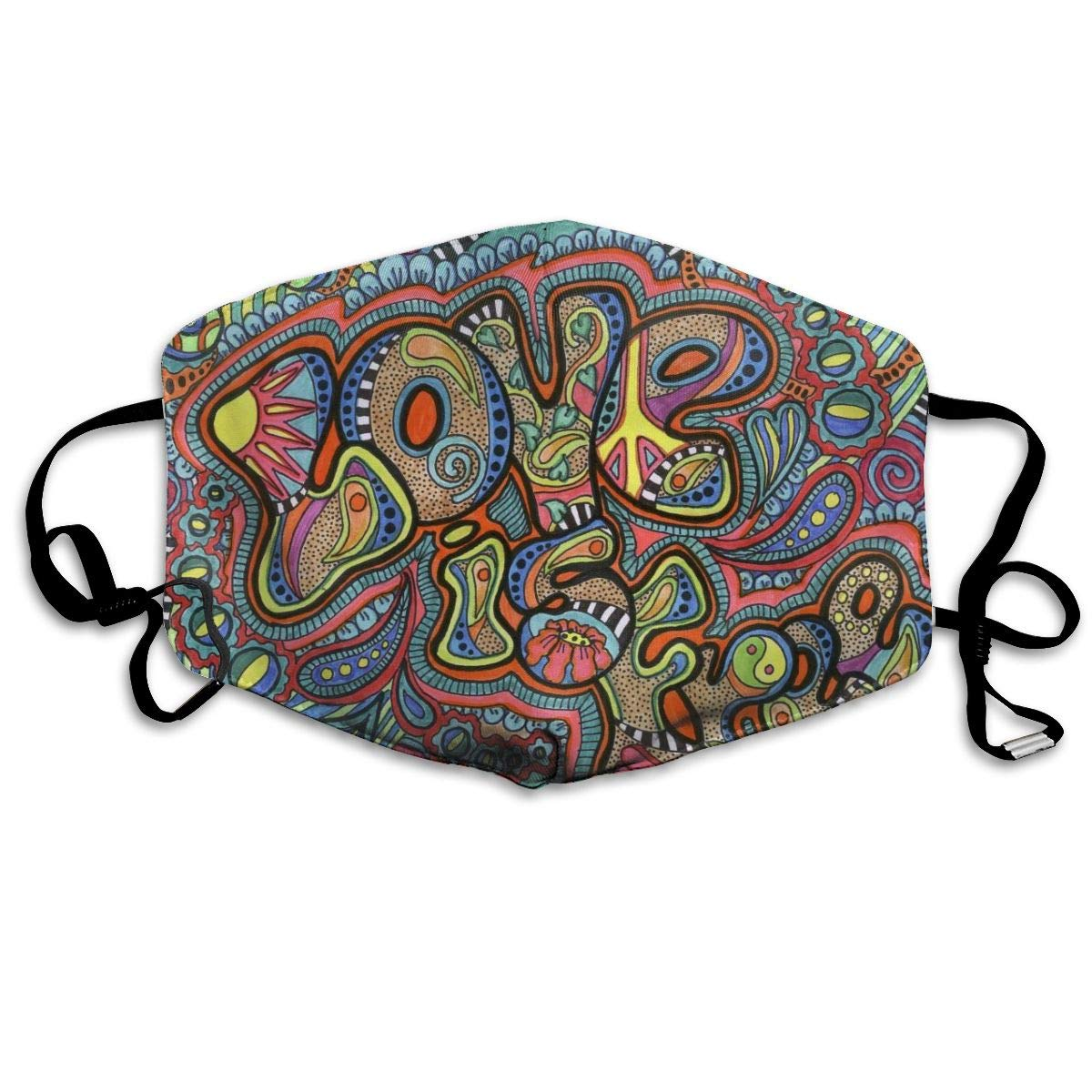 Hippie Anti Dust Half Face Mouth Mask