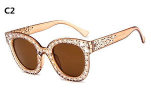 Designer Luxury Cat Eyes Sunglasses