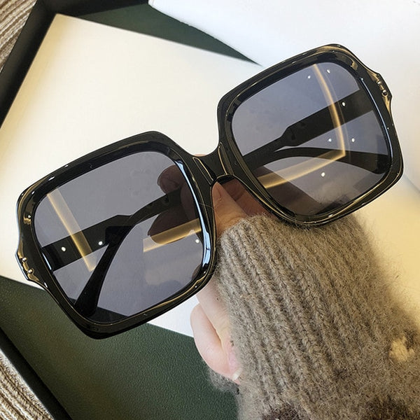 Fashion Luxury Brand Square Sunglasses