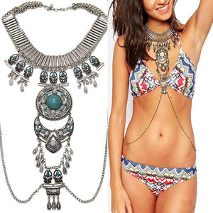 Body Chain Harness Jewelry